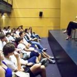 2007_Col. Liessin_Debate com alunos_Livro Rampa