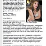 Jornal O Povo_Páginas Azuis Educar é saber dizer não! ( O POVO)